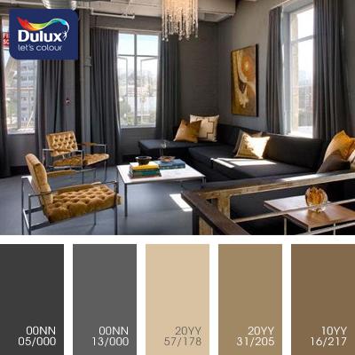 Цвет Dulux 20YY 57/178 (пастельный) в интерьере спальни (фото)