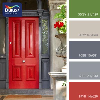 Цвет Dulux 30BB 31/043 (серый) в интерьере спальни (фото)