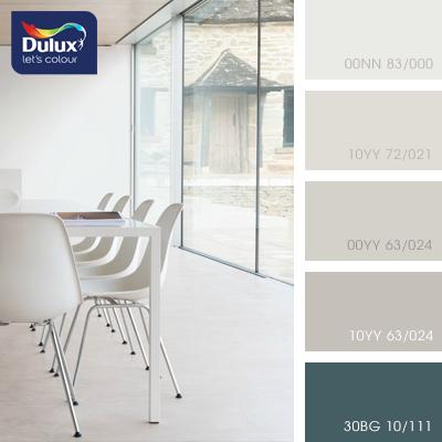 Цвет Dulux 00YY 63/024 (пастельный) в интерьере гостиной (фото)
