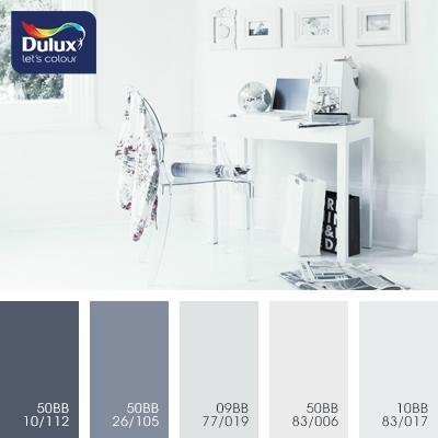 Цвет Dulux 50BB 83/006 (пастельный) в интерьере гостиной (фото)