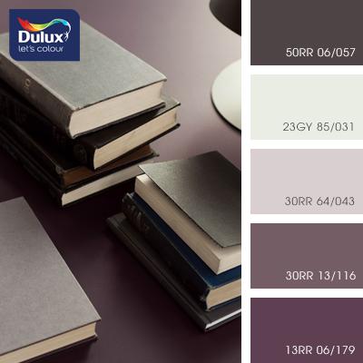 Цвет Dulux 13RR 06/179 (бордовый) в интерьере кухни (фото)
