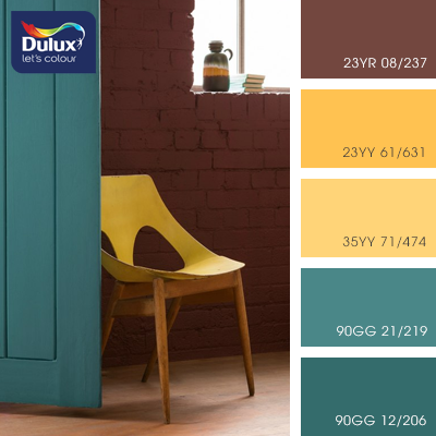 Цвет Dulux 35YY 71/474 (песочный) в интерьере гостиной (фото)