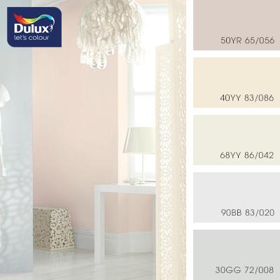 Цвет Dulux 68YY 86/042 (пастельный) в интерьере гостиной (фото)
