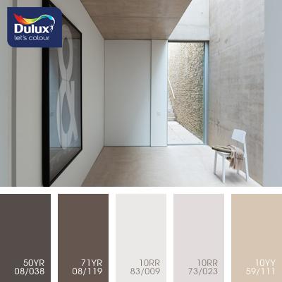 Цвет Dulux 10RR 83/009 (пастельный бежевый) в интерьере гостиной (фото)