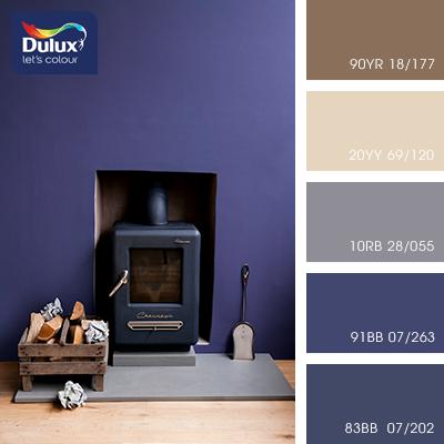 Цвет Dulux 20YY 69/120 (пастельный бежевый) в интерьере гостиной (фото)