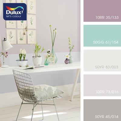 Цвет Dulux 10RR 73/016 (пастельный) в интерьере гостиной (фото)