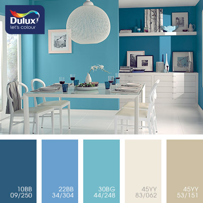 Цвет Dulux 45YY 83/062 (пастельный) в интерьере гостиной (фото)