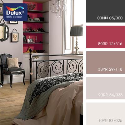 Цвет Dulux 90RR 64/036 (пастельный кофейный) в интерьере зала (фото)