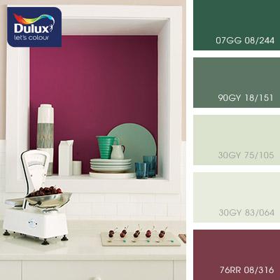 Цвет Dulux 30GY 75/105 (светлый салатовый) в интерьере спальни (фото)