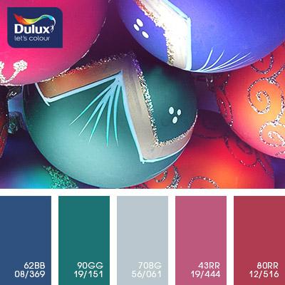Цвет Dulux 70BG 56/061 (грязно-голубой) в интерьере кухни (фото)
