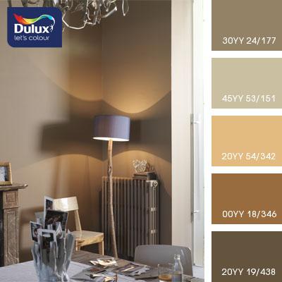 Цвет Dulux 45YY 53/151 (мышиный) в интерьере спальни (фото)