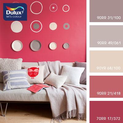 Цвет Dulux 90RR 31/100 (кофейно-бежевый) в интерьере гостиной (фото)