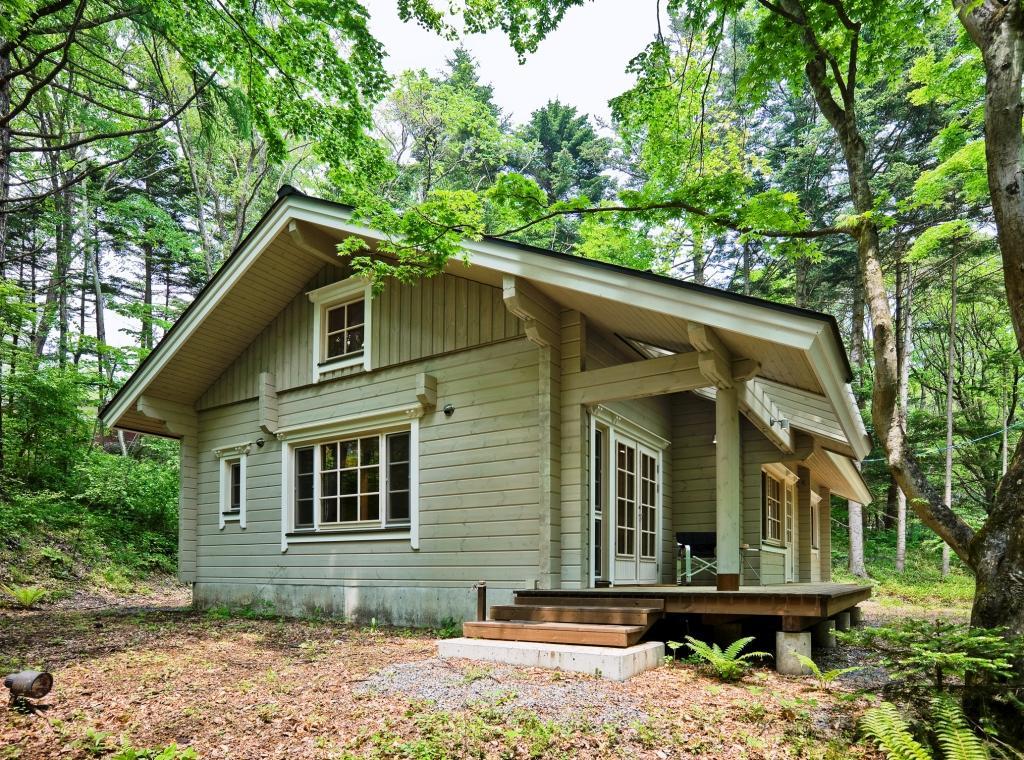 Деревянные дачные домики картинки