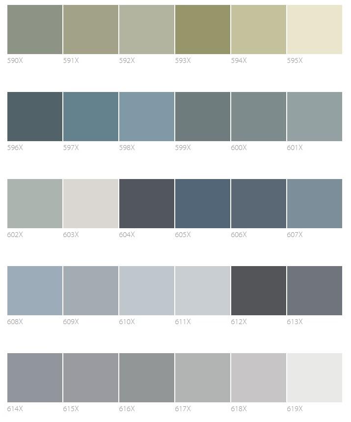 Цветовая гамма фасадов Тиккурила