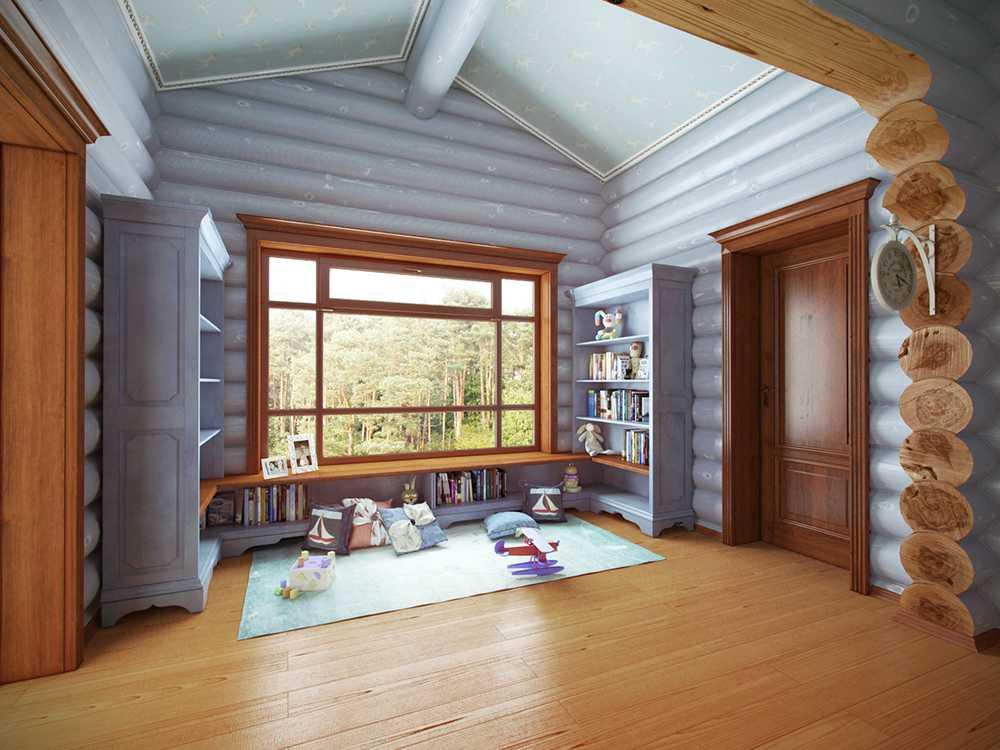 Картинки отделки деревянных домов внутри фото
